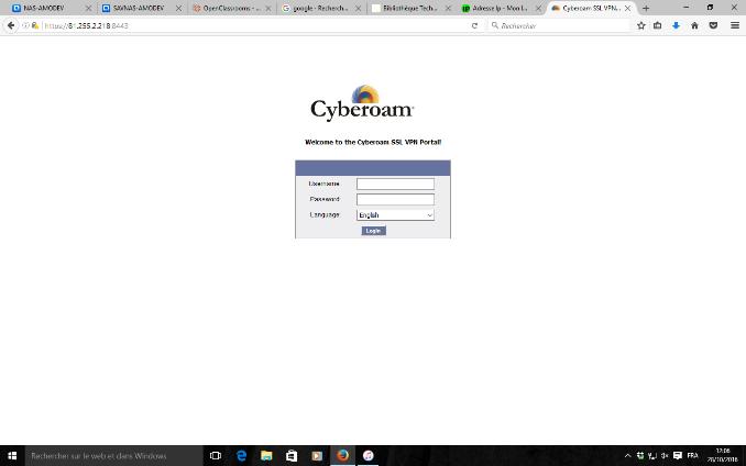 Installer un VPN Cyberoam SSL sur iPhone ou iPad |